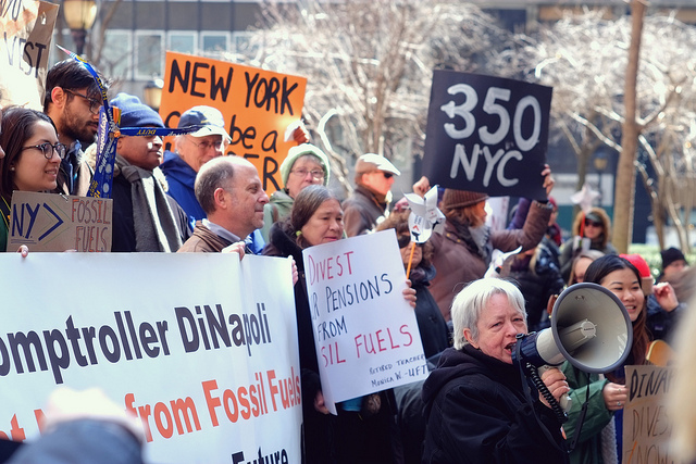 NY action divest