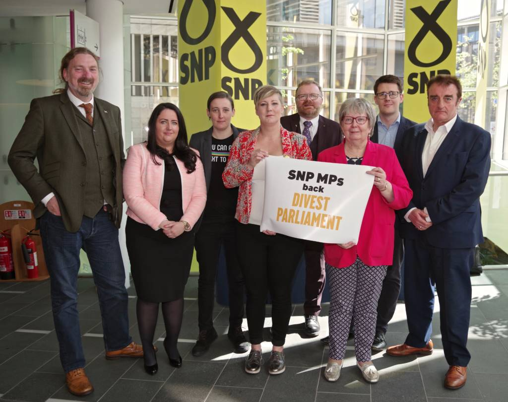 Group MP photo at the SNP Spring Conference (April 27th) - credit Richard Dixon